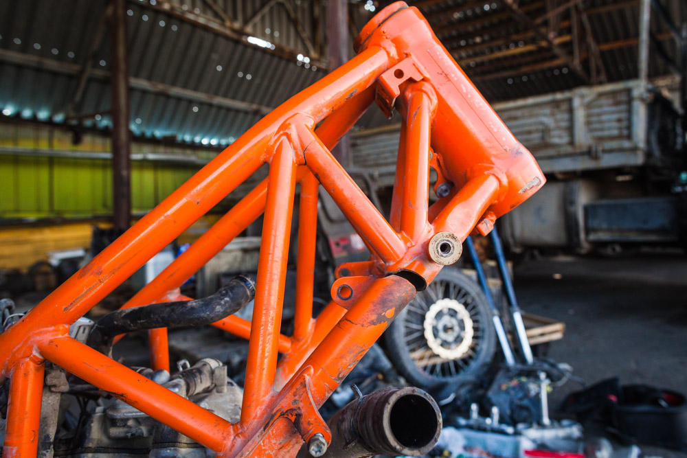 KTM-690-Enduro-frame-fracture